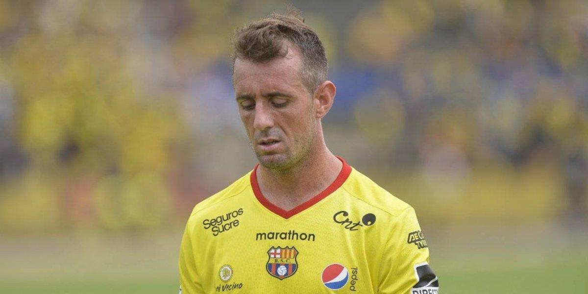 Damián 'El Kitu' Díaz envió mensaje a Barcelona SC