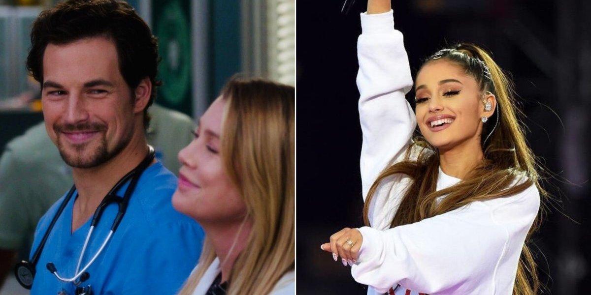 Grey's Anatomy: Ellen Pompeo e Giacomo Gianniotti levam Ariana Grande à loucura com vídeo no Instagram