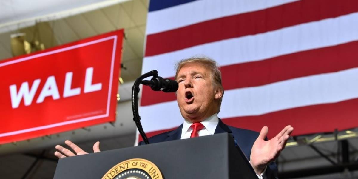 Trump presiona por muro fronterizo y el Congreso llega a acuerdo de principio