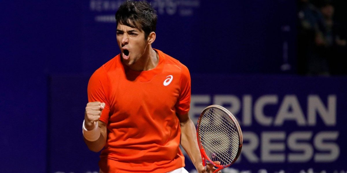 Christian Garín debutó con un electrizante triunfo en el ATP de Buenos Aires