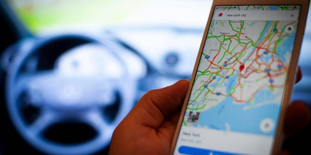 Un conductor cae a un barranco al seguir las instrucciones de Google Maps