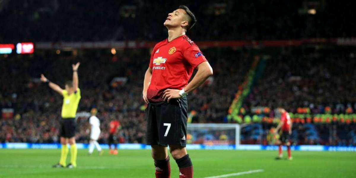 "Alexis Sánchez vuelve a tropezar con su ""maldición"" Champions League"
