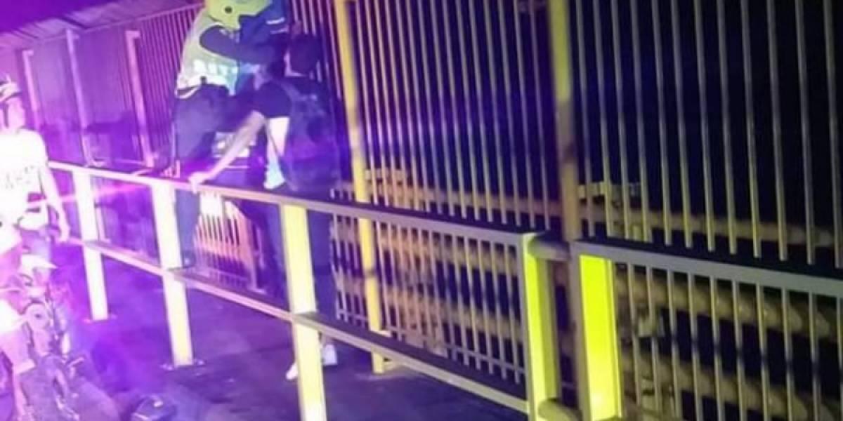 Policía evitó que otras dos mujeres se lanzaran de puente en Ibagué
