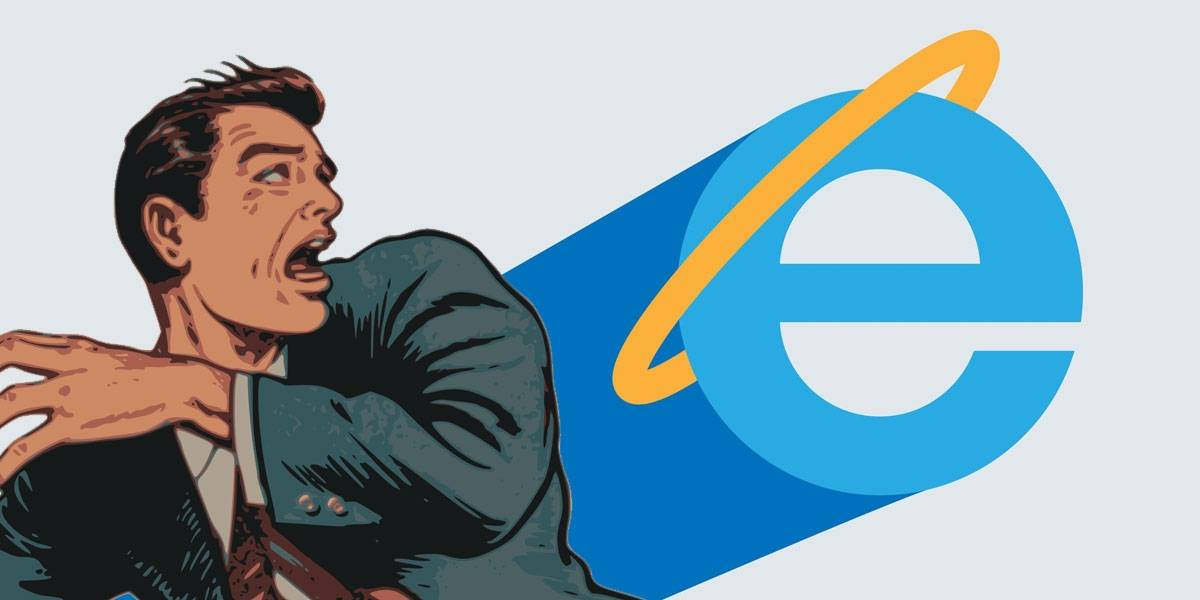 ‼ ¡Cuidado! No uses Internet Explorer como navegador predeterminado