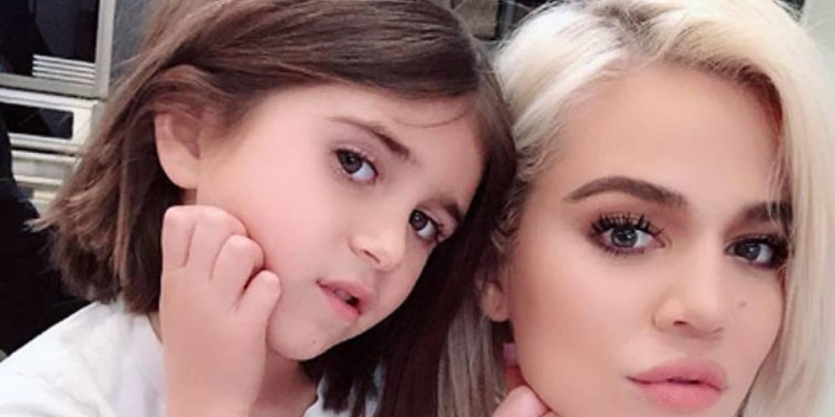 El estilo bob de la hija de Kourtney Kardashian la hace la niña más chic del 2019