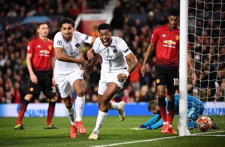 El PSG sacó un gran resultado en su visita al Manchester United. AFP