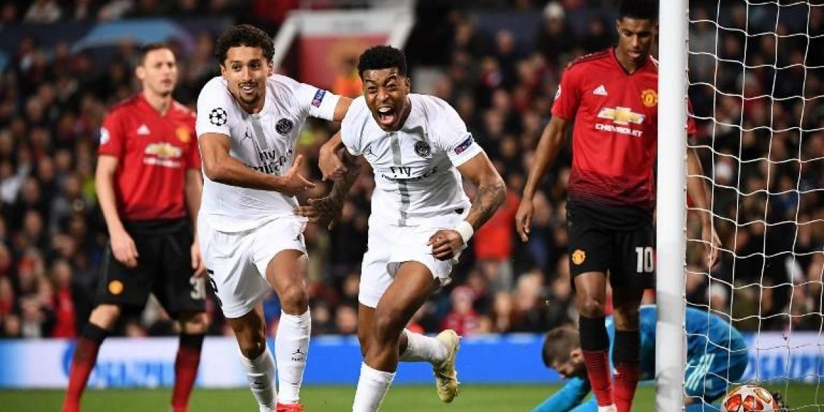 Sin Neymar ni Cavani, el PSG derrota al United en el Old Trafford
