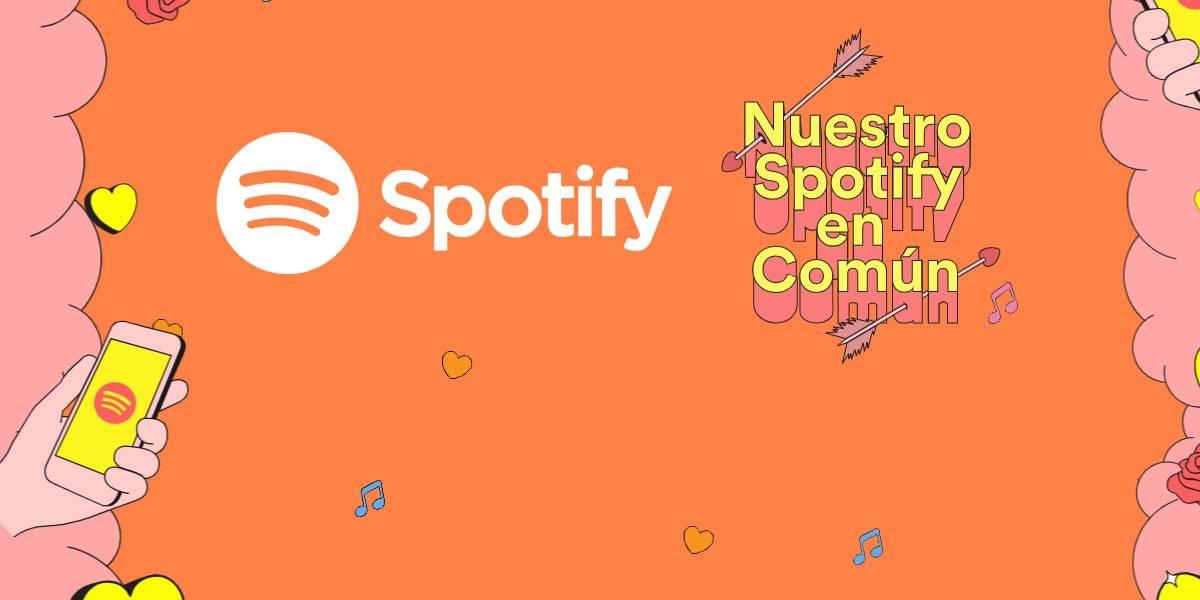 Así funciona #NuestroSpotify el juego de San Valentín para conocer su compatibilidad musical
