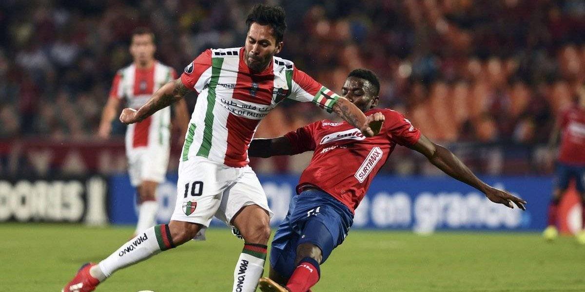 Palestino logró la hazaña en Colombia y eliminó por penales al DIM en la Libertadores