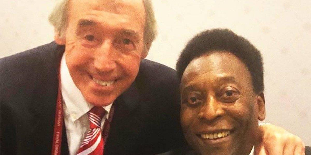 Pelé se despide de Banks con un emotivo mensaje