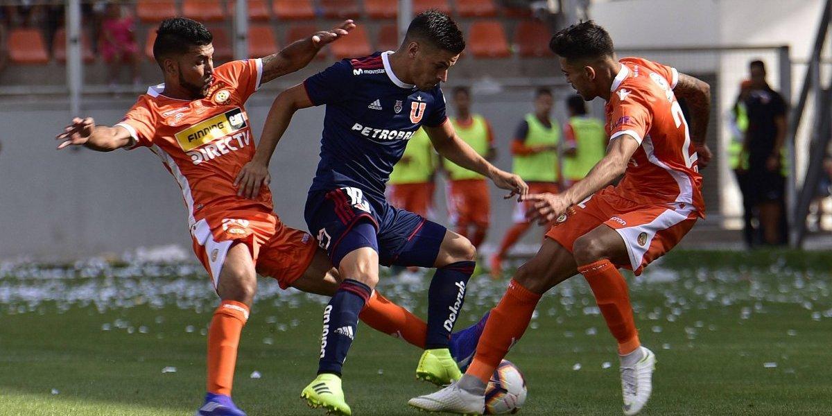 Malas para Kudelka: Nicolás Oroz quedó descartado para la vuelta de la U ante Melgar por Libertadores