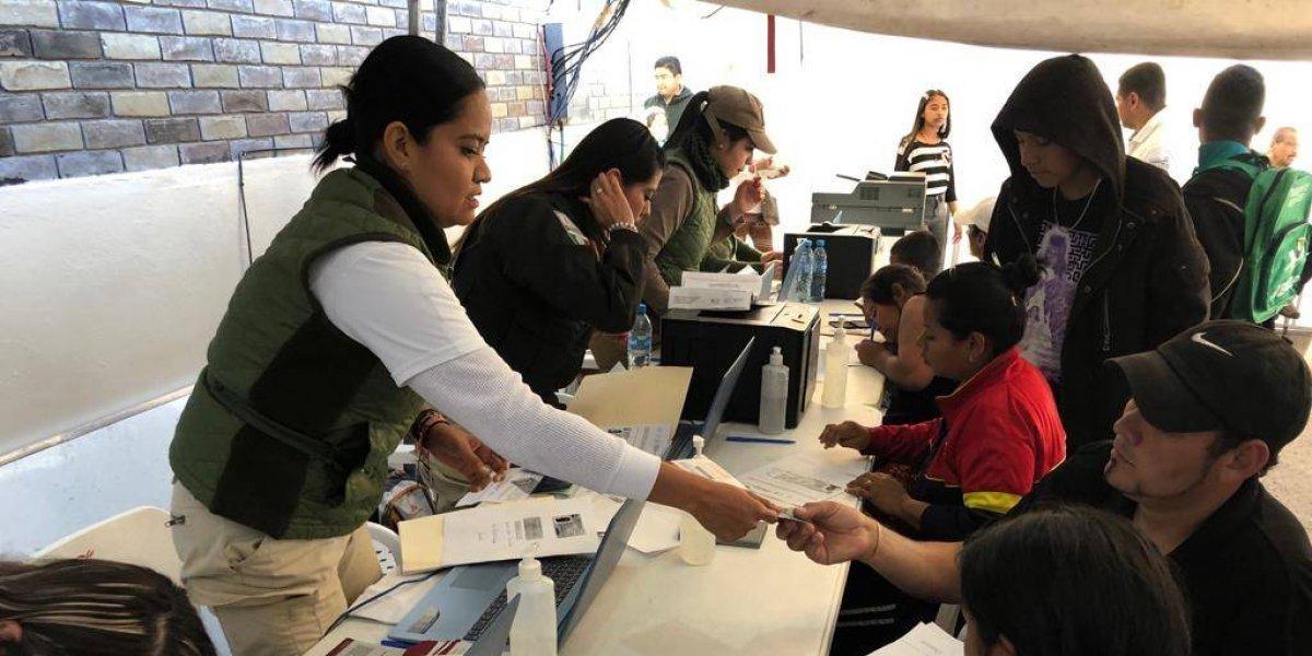 Entregan más de 13 mil tarjetas de Visitante por Razones Humanitarias en México