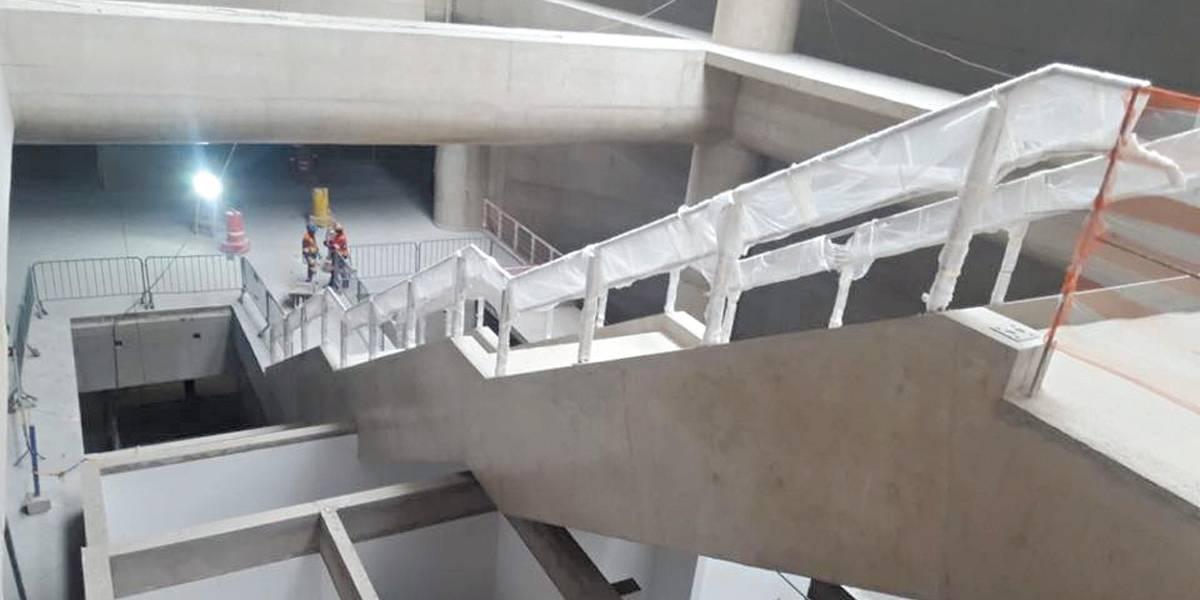 Obras da estação Campo Belo do Metrô terminam até abril