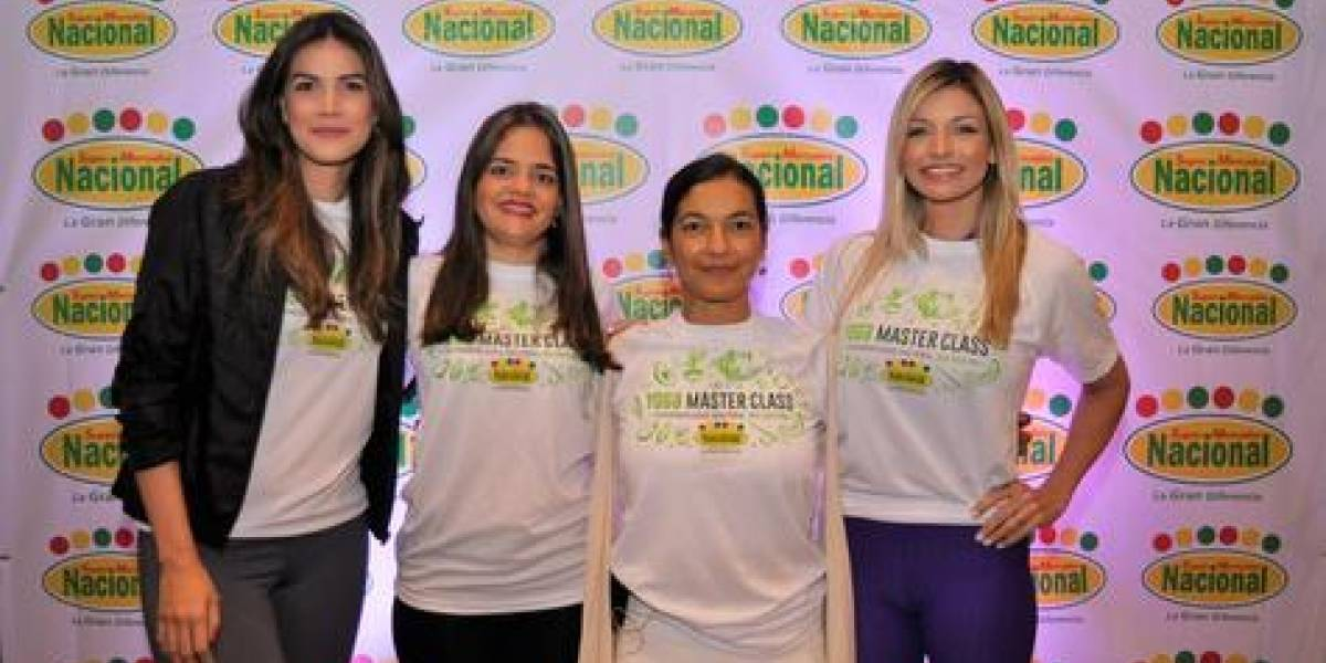 """#TeVimosEn: Supermercados Nacional celebra tercera edición del """"Mes de la Salud"""""""