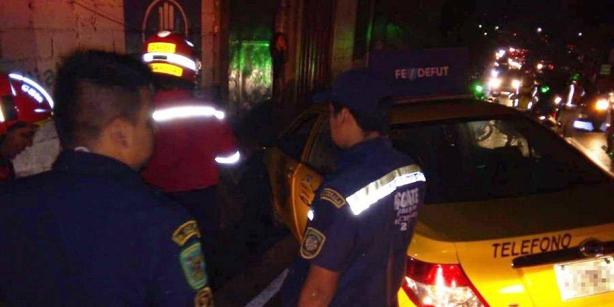 Taxista muere baleado al final de la Avenida Petapa