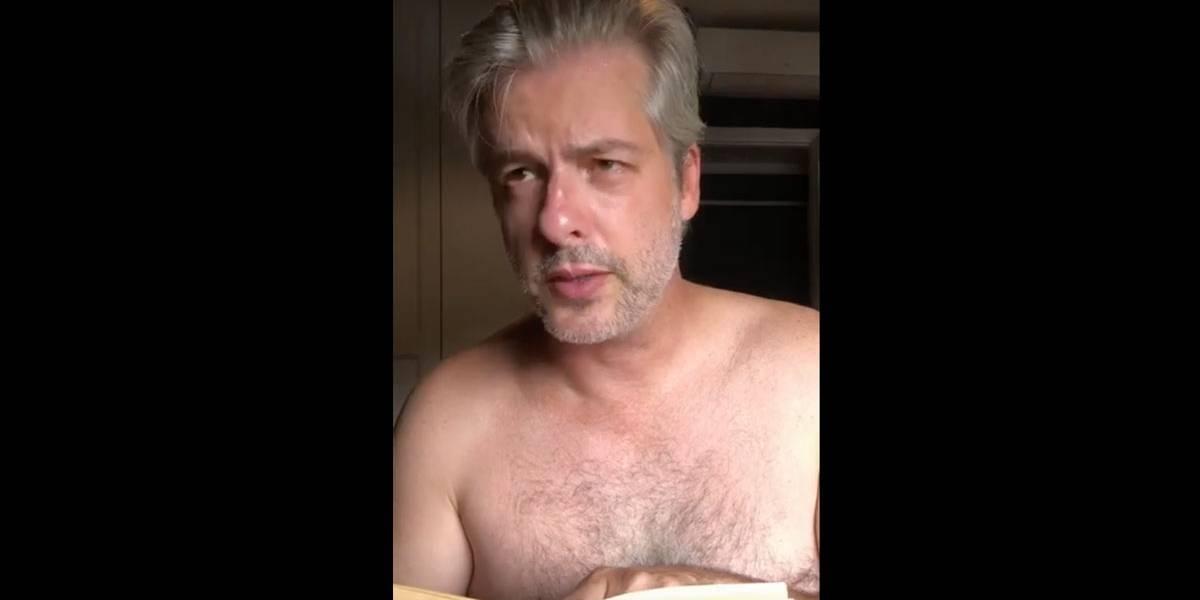 Victor Chaves explica vídeo irônico de agressão