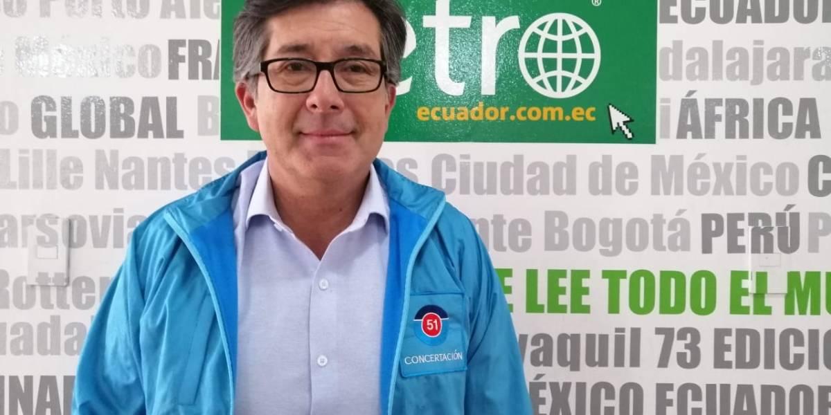 César Montúfar hará una caminata de 24 horas como cierre de campaña