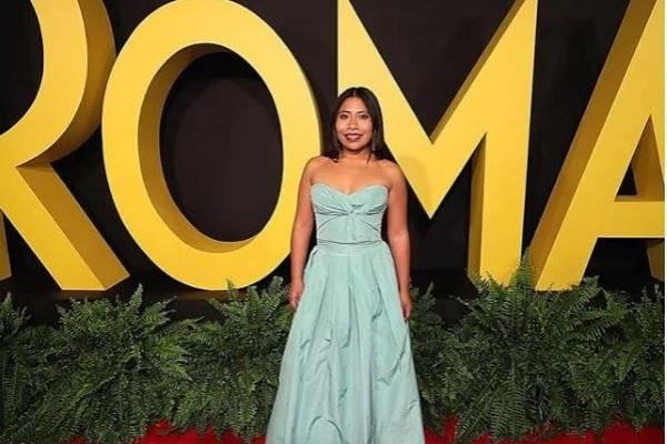Vestido De Yalitza Aparicio Para Los Oscar 2019 Nueva Mujer
