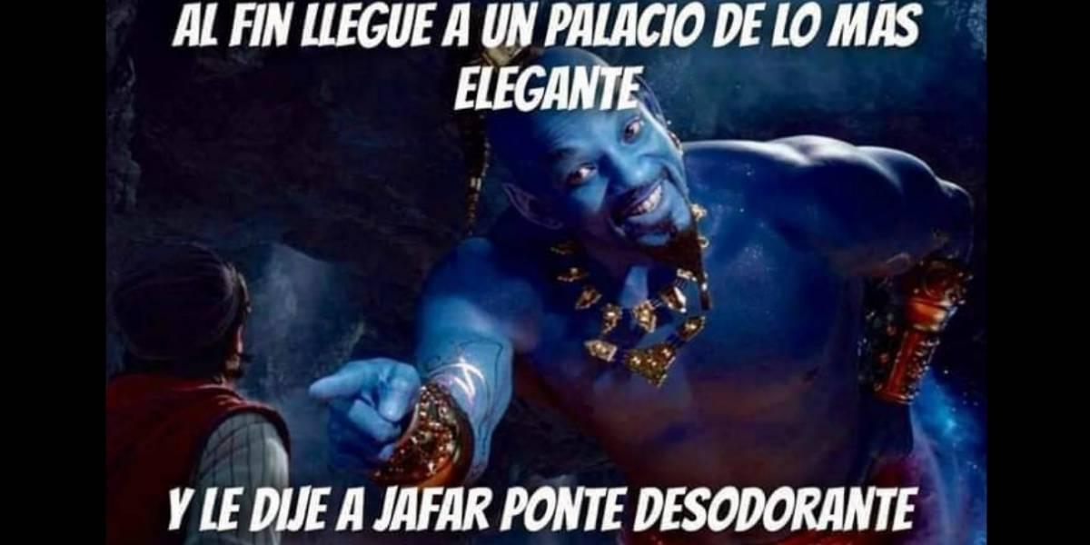 Aladdin: nuevo adelanto nos muestra a Will Smith como el Genio