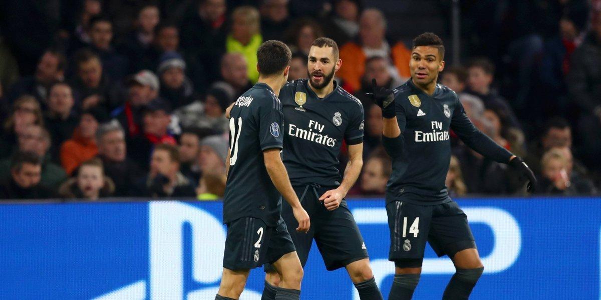 ¡Una clase de jerarquía! Ajax jugó bien, pero ganó el Real Madrid (1-2)