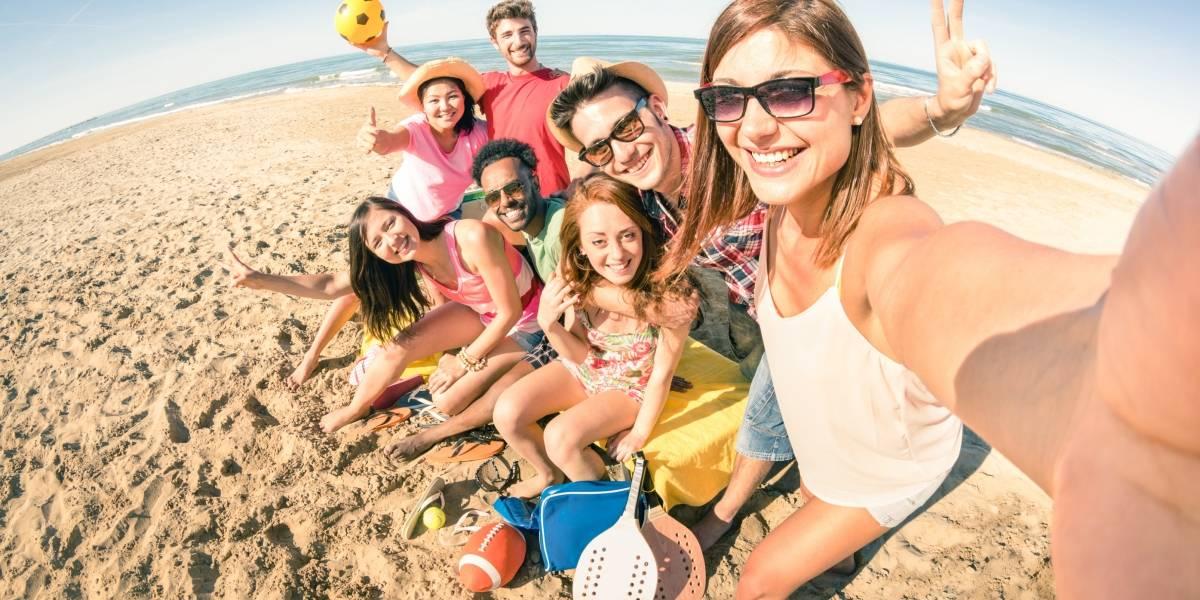 Alcatel presenta la solución para que nadie se quede fuera de las selfies