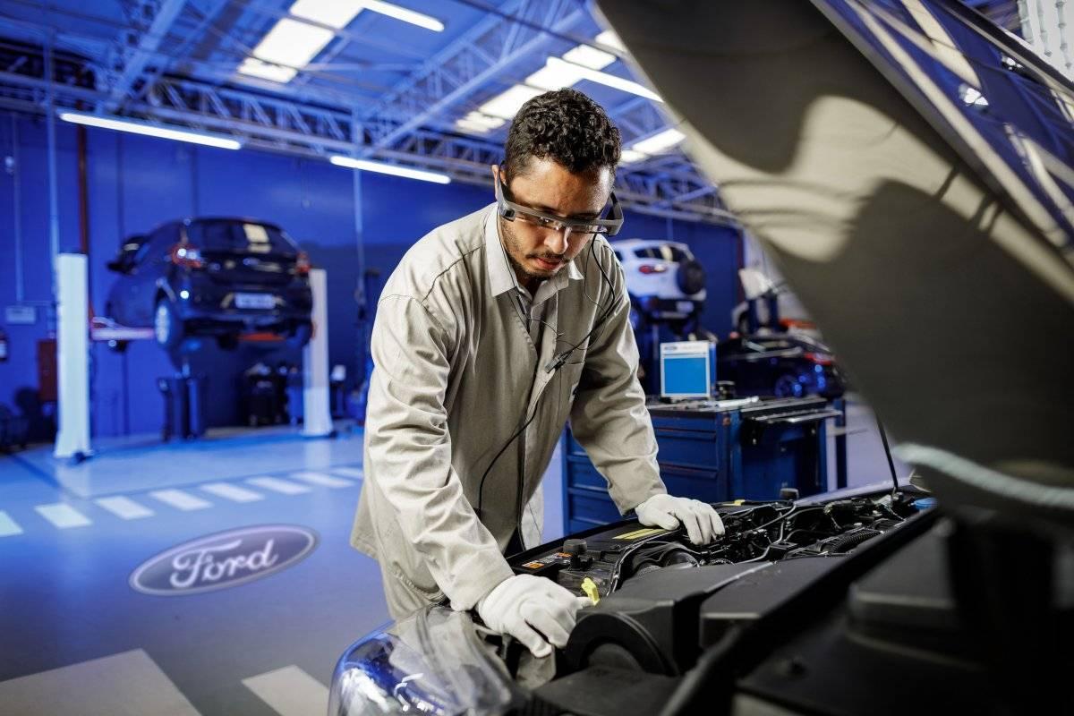 Ford óculos realidade aumentada