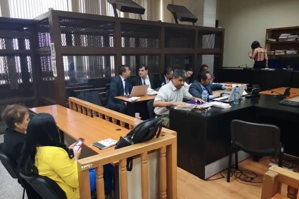 audiencia de etapa intermedia del caso Manipulación de Justicia