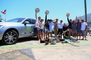 Volvo Cars limpieza marina
