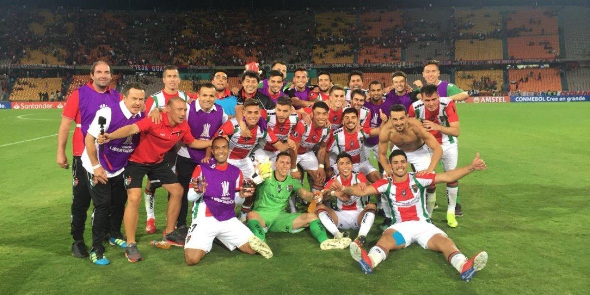 Palestino espera por un duro rival en la tercera fase de la Copa Libertadores