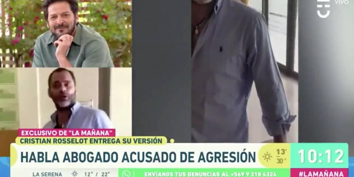 """""""¿Tienes problemas con el alcohol?"""": Abogado funado en Pirque arremetió contra Rafael Cavada en el matinal de CHV"""