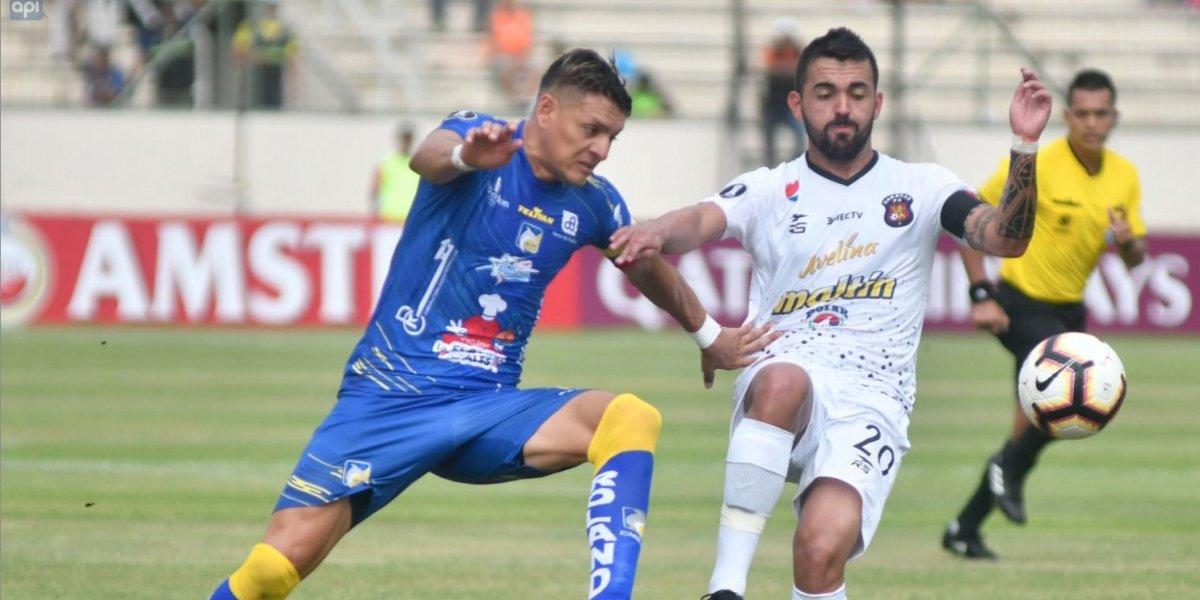 Copa Libertadores: Caracas vs Delfín terminó 0-0 y los 'cetáceos' quedan fuera del torneo continental