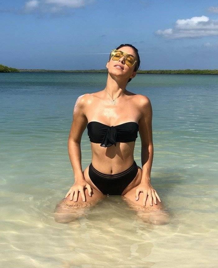 Miss Ecuador, Virginia Limongi en Galápagos
