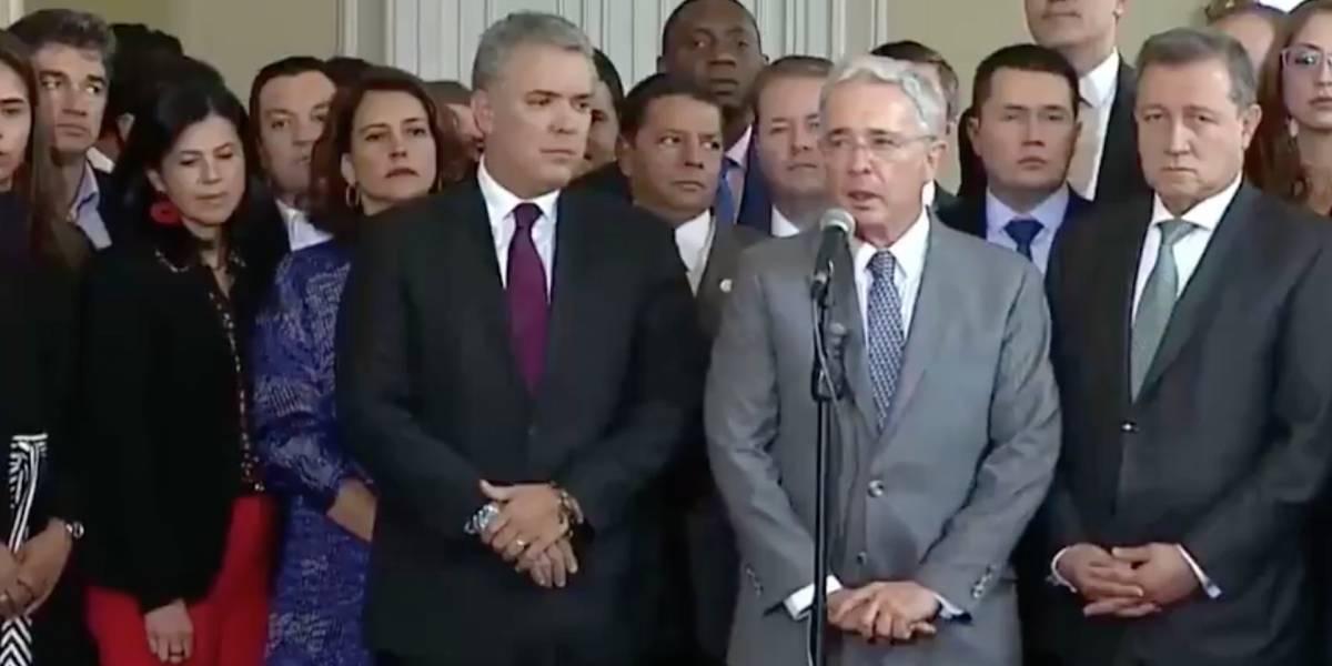 """La respuesta de Álvaro Uribe al audio en donde dice que es el """"presidente"""" de Colombia"""