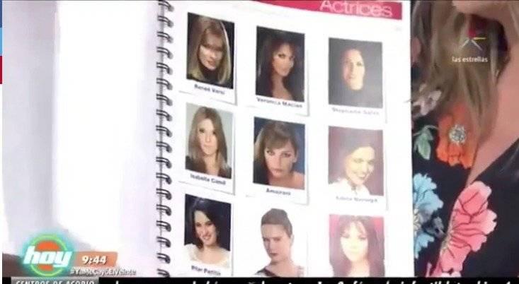 Catálogo sexual Televisa