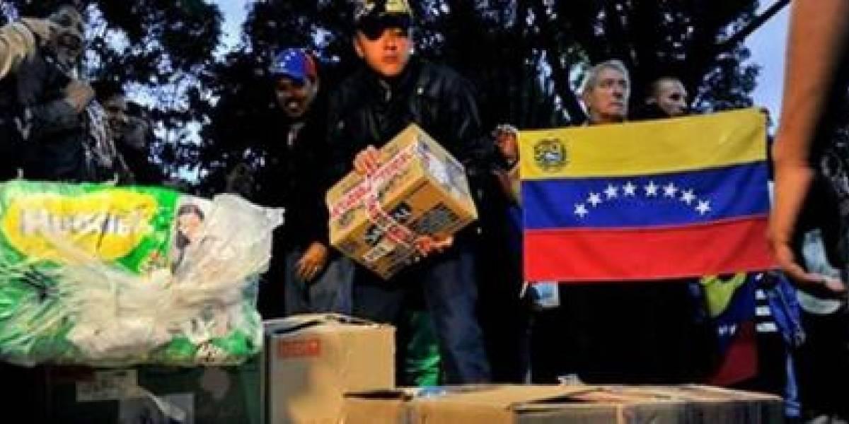 """Chavismo califica la ayuda humanitaria como """"cancerígena y envenenada"""""""