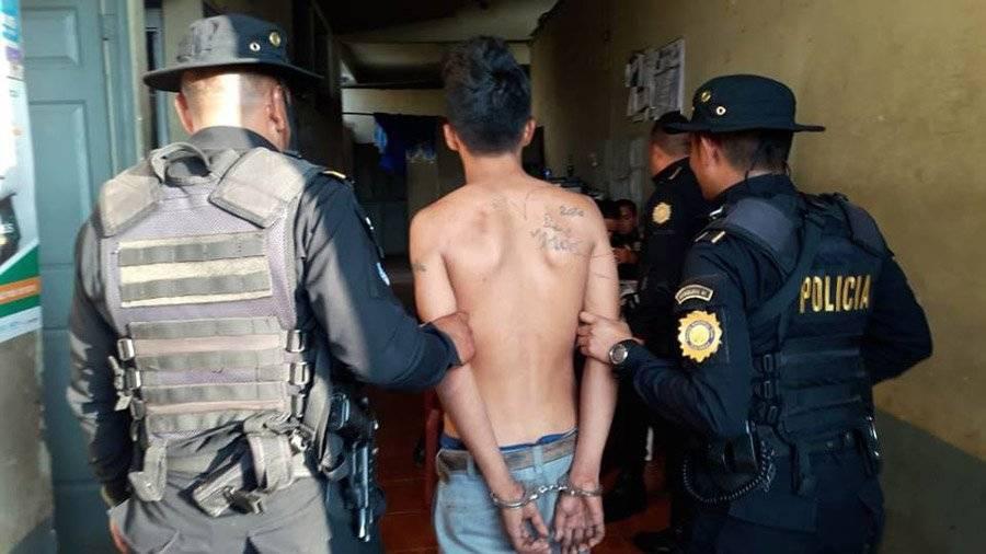 Extorsionistas detenidos por PNC Foto: PNC