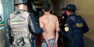 Extorsionistas detenidos por PNC