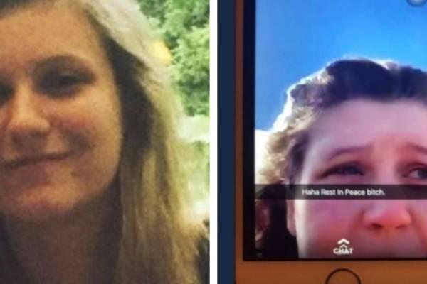 Hailey Nailor fue acosada e incluso una joven se burló tras su suicidio. - Facebook/Twitter