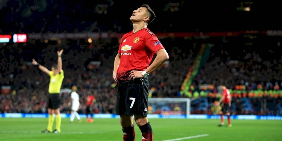"""""""Desterrado"""" e """"influencia negativa"""": En Inglaterra siguen destrozando a Alexis Sánchez que se ve lejos de seguir en el United"""