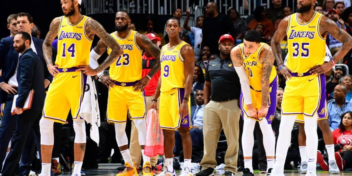NBA: Los Ángeles Lakers de LeBron James siguen en caída libre tras caer ante Atlanta Hawks