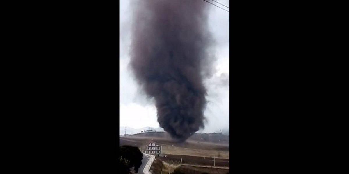 VIDEO. Lo que se observó hoy en Sololá fue un gustnado