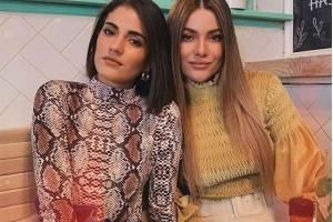 Mikaela y Constanza Báez