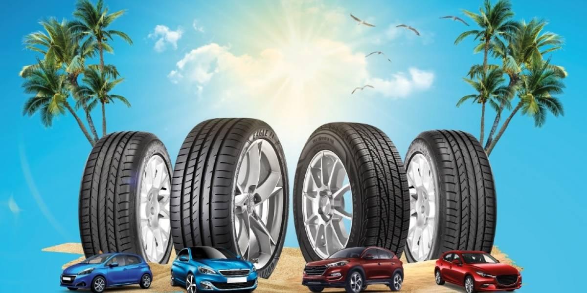 Norte, sur o playa: guía para elegir el neumático correcto