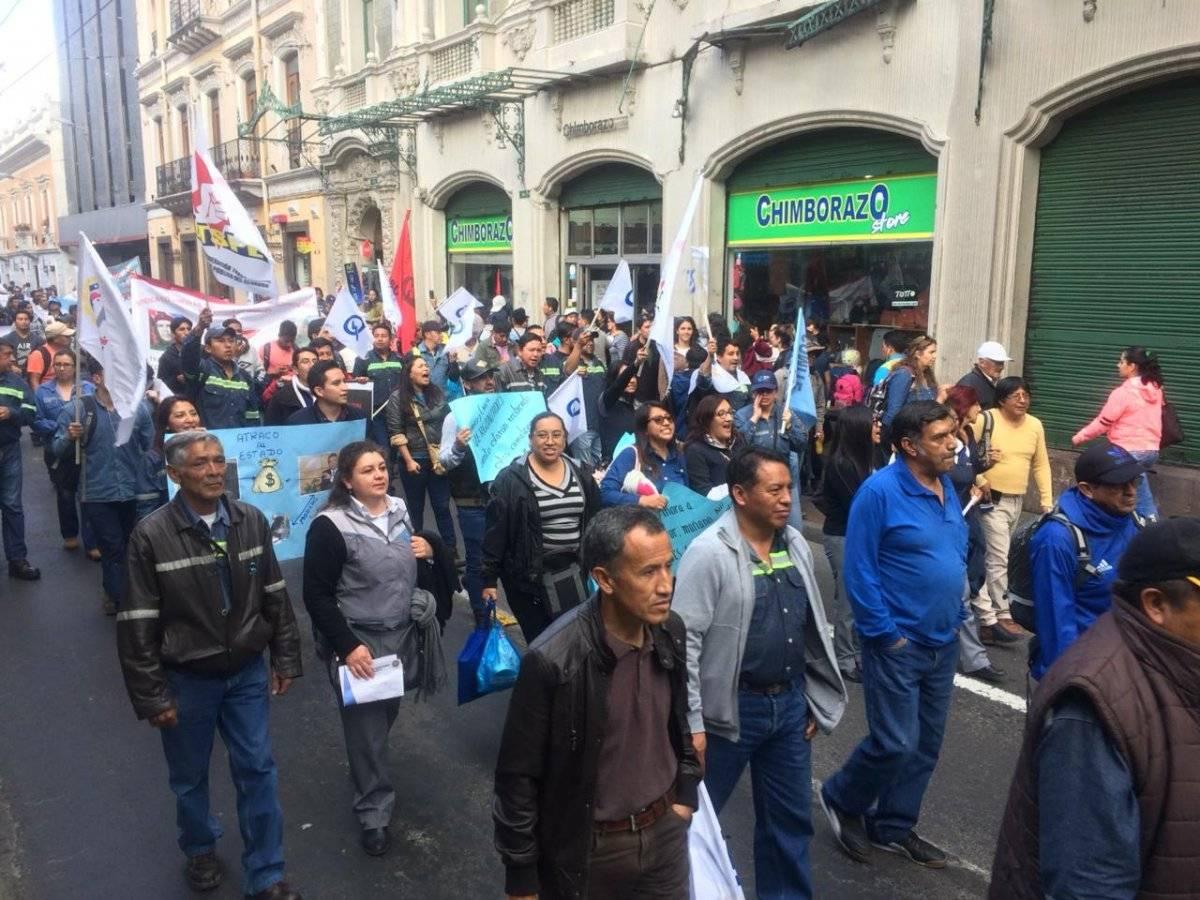 Marcha empleados públicos Cortesía