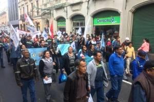 Marcha empleados públicos