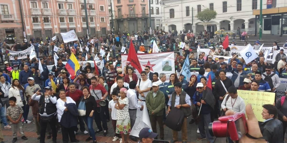 Sindicatos anuncian que preparan huelga nacional