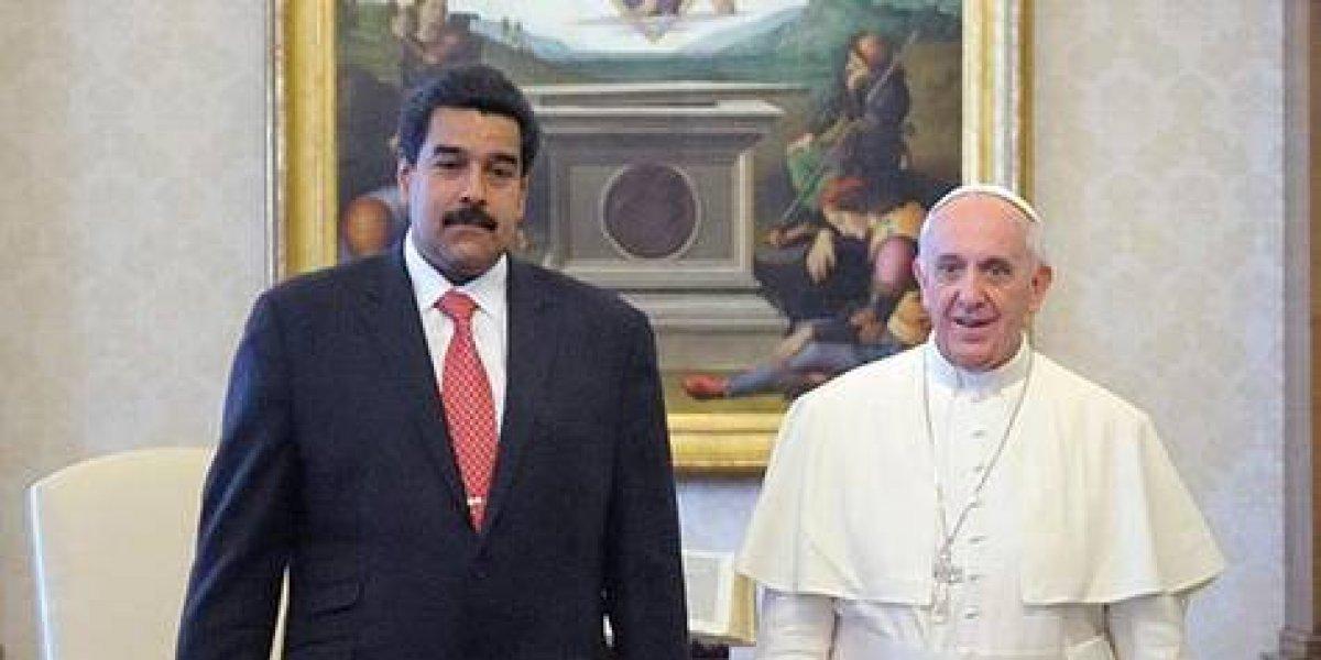 Los reproches del Papa a Nicolás Maduro