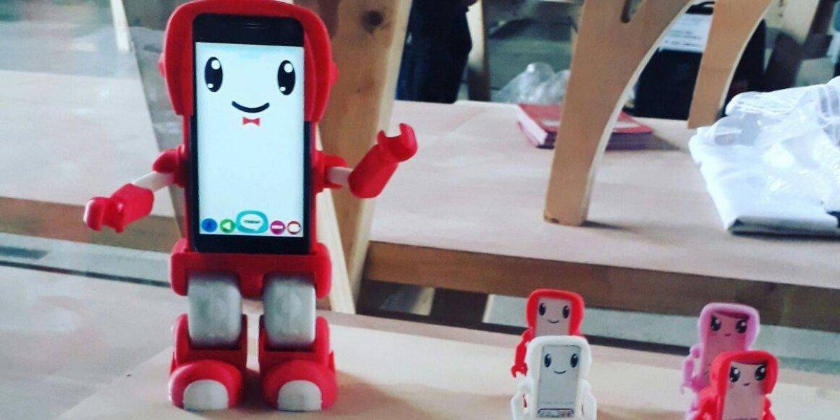 Robot interactivo chileno llega hasta la principal feria de juguetes en Nueva York