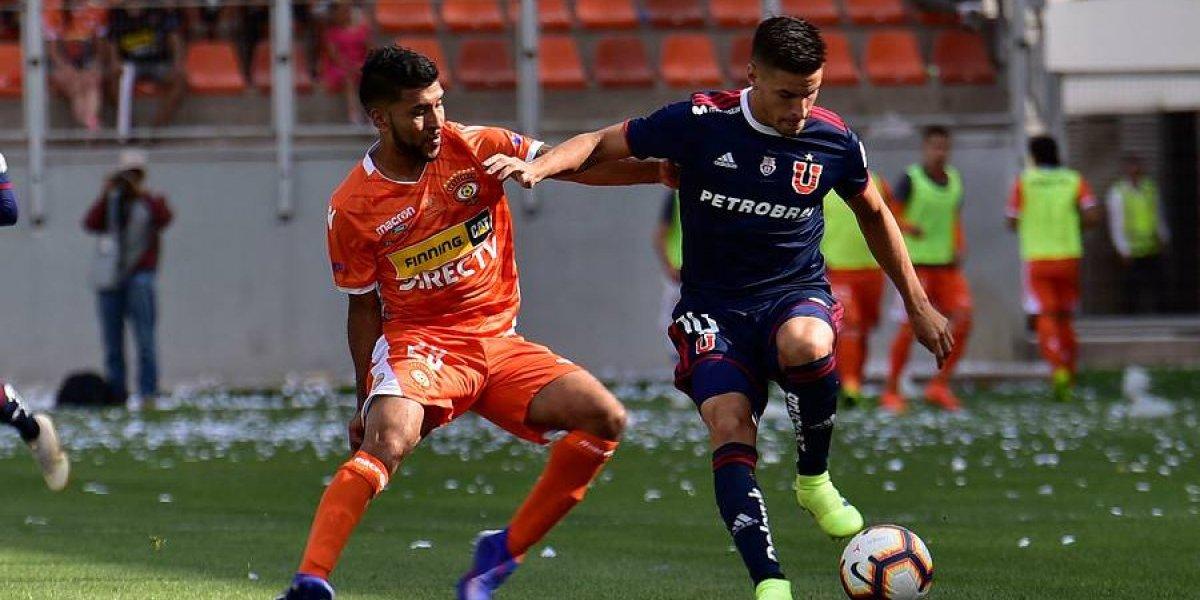 Nicolás Oroz se perderá el inicio del Campeonato Nacional 2019 con la U