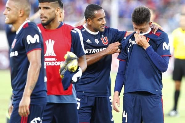 El balance de la pobre presentación en la eliminación de la U de Copa Libertadores /Imagen: Photosport